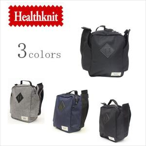 Healthknit ヘルスニット 斜めがけショルダーバッグ レディース メンズ HKB-1076|evermall
