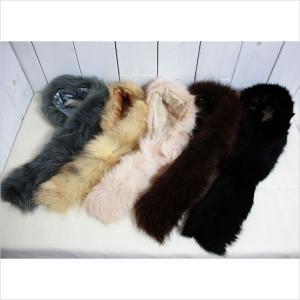 ■カラー:ピンクベージュ、イエローベージュ、ブラウン、グレー、ブラック ■サイズ:毛足込約12cm×...