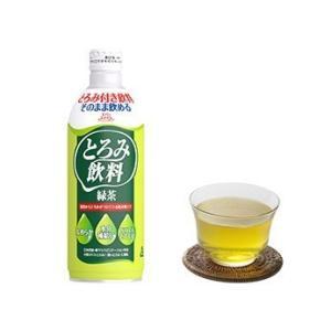 とろみ調整 介護食 エバースマイル とろみ飲料 緑茶 12本セット 嚥下補助|eversmileonlineshop