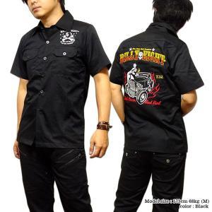 シャツ メンズ 半袖 刺繍 ブラック ボーリングシャツ ダーツシャツ メンズ バイカー 半袖シャツ|eversoul