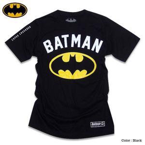 バットマン Tシャツ グッズ メンズ tシャツ BATMAN アメコミ ブラック 黒 バットマンマーク|eversoul
