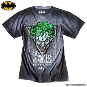 ジョーカー Tシャツ メンズ バットマン BATMAN JOKER グッズ 半袖 シャツ アメコミ ...