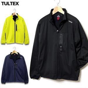 中綿ジャケット メンズ ブルゾン アウター ストレッチ フリース 秋 冬 TULTEX タルテックス eversoul