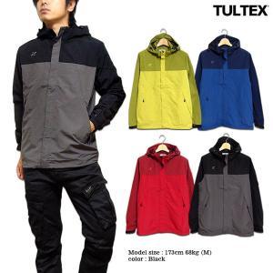 TULTEX マウンテンパーカー ジャケット メンズ アウター ブルゾン マンパー アウトドア 秋 冬 ブラック レッド グリーン ネイビー LL 3L|eversoul