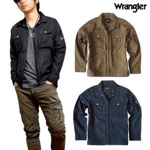 Wrangler ラングラー ワークジャケット ジップアップ メンズ アウター ストレッチ ジャケット 羽織り ブラック 秋 春 LL 3L 静電気防止 eversoul