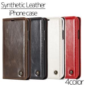 iPhone ケース アイフォンケース レザー手帳 iPho...