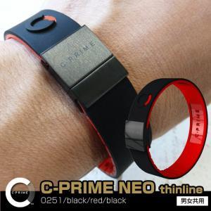 シープライム C-PRIME NEO thinline 0251/black/red/black ポ...