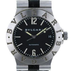 ブルガリ BVLGARI ディアゴノ35 LCV35S 自動巻式 ブラック 文字盤: 3針式 メンズ 腕時計 【sa pa】【中古】 everydaygoldrush