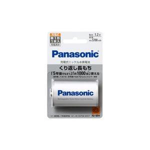 パナソニック ニッケル水素電池 単1形 BK-1MGC/1|evillage