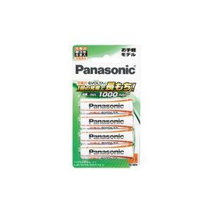 パナソニック 充電式エボルタ ニッケル水素電池 単3形  BK-3LLB/4B|evillage