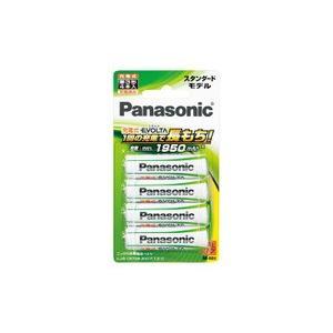 パナソニック 充電式エボルタ ニッケル水素電池 単3形  BK-3MLE/4B|evillage