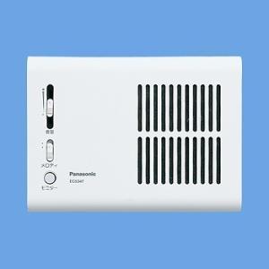 パナソニック EC5347 チャイム(乾電池式) メロディサイン (3種音) ホワイト evillage