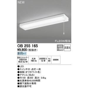 オーデリック スイッチ付LEDキッチンライト流し元灯昼白色【OB255165S】|evillage