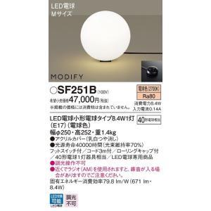 パナソニック Panasonic LEDフロアスタンド MODIFY(モディファイ)ブラックコード【SF251B】 evillage