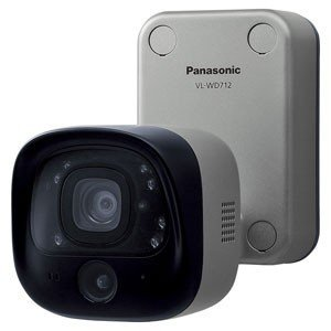 パナソニック Panasonic テレビドアホン センサー付屋外ワイヤレスカメラ 電源コード式  VL-WD712K|evillage