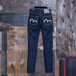 WOMEN'S/《#1984》 WOMEN'S SKINNY PANTS STRETCH DENIM/EVISUジーンズ|evisu