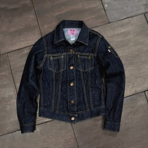 WOMEN'S/《ANNA》 FLAP-LESS DENIM JACKET/EVISUジーンズ|evisu