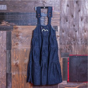 WOMEN'S/《SOPHIE》 JUMPER DRESS (DENIM)/EVISUジーンズ|evisu