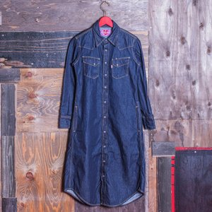 WOMEN'S/《CERENA》 WESTERN ONE-PIECE (DENIM)/EVISUジーンズ|evisu