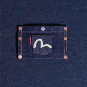 CARTE CARD-CASE SELVAGE DENIM/名刺入れ/カードケース/EVISUジーンズ|evisu