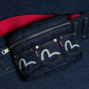 EVISUエヴィス 《PATATA S》BODY BAG (DENIM)/EVISUジーンズ|evisu