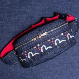 EVISUエヴィス 《PATATA L》BODY BAG (DENIM)/EVISUジーンズ|evisu