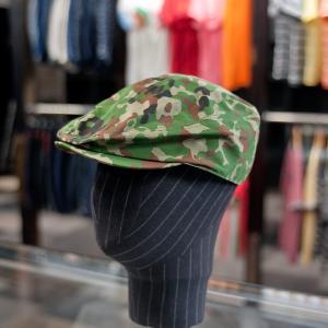 EVISUエヴィス HUNTING-CAP/CAMO ポケット付/ハンチングキャップ/EVISUジーンズ|evisu