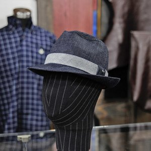 EVISUエヴィス GIAN DENIM HAT SELVAGE DENIM/EVISUジーンズ|evisu