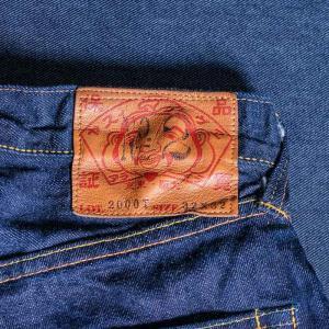 【ワンウォッシュ】EVISUエヴィス #2000TNo.2MIZUHIKI刺繍/ゴールド×シルバー/28インチ〜36インチ/EVISUジーンズ evisu 04