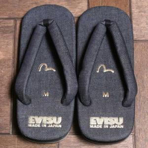 EVISUエヴィス 雪駄デニム/セッタ/サンダル/EVISUジーンズ|evisu