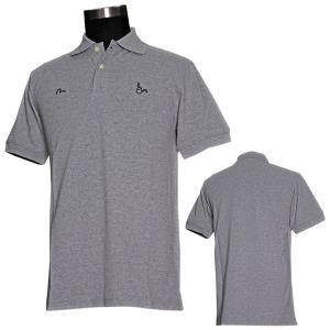 EVISUエヴィスPOLOシャツ/TROY×EVISU/グレイ/ポロシャツ/半袖/EVISUジーンズ|evisu
