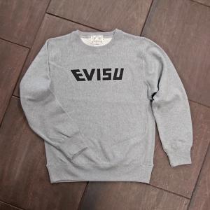 EVISUエヴィス SWEAT SHIRT/EVISU/GRAY/グレー/スウェット/EVISUジーンズ|evisu