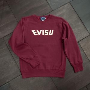 EVISUエヴィス SWEAT SHIRT/EVISU/WINE/ワイン/スウェット/EVISUジーンズ|evisu