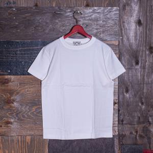 EVISUエヴィス 《VETERANO LW》 T-SHIRT (吊り編み) ホワイト/EVISUジーンズ|evisu