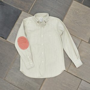 EVUSUエヴィスNEW YORK SHIRT SLUB CHAMBRAY/BEIGE/EVISUジーンズ|evisu