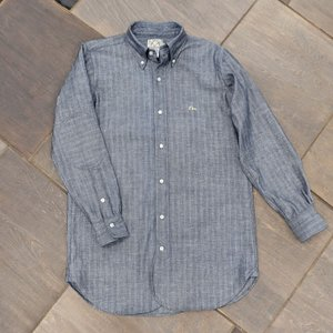 EVUSUエヴィス NEW YORK SHIRT LONG HERRING BONE NO POCKET/EVISUジーンズ|evisu
