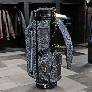 EVISUエヴィス ANGEL CADDIE BAG CROCO BLACK/EVISUジーンズ|evisu