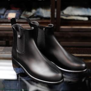 EVISUエヴィス RAIN BOOTS BLACK/レインブーツ/EVISUジーンズ|evisu