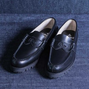 EVISUエヴィス YK1002VS LOAFER KAMOME BLACK/EVISUジーンズ|evisu