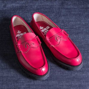 EVISUエヴィス YK1002VS LOAFER KAMOME RED/EVISUジーンズ|evisu