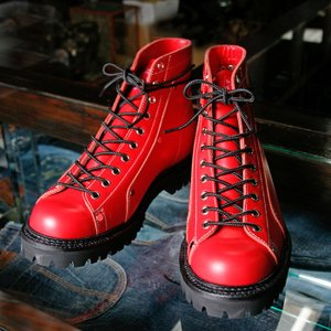 EVISUエヴィス YK2000 MONKEY BOOTS/RED/EVISUジーンズ|evisu