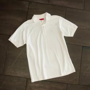EVISUエヴィス POLO SHIRT/クリーム/カモメワンポイント/ポロシャツ/Tシャツ/EVISUジーンズ|evisu