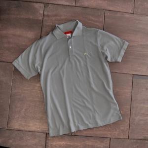 EVISUエヴィス POLO SHIRT/グレイ/カモメワンポイント/ポロシャツ/Tシャツ/EVISUジーンズ|evisu