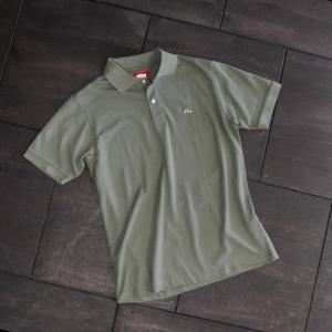 EVISUエヴィス POLO SHIRT/カーキ/カモメワンポイント/ポロシャツ/Tシャツ/EVISUジーンズ|evisu
