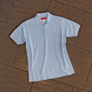 EVISUエヴィス POLO SHIRT/サックス/カモメワンポイント/ポロシャツ/Tシャツ/EVISUジーンズ|evisu