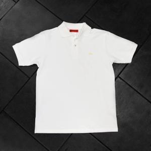 EVISUエヴィス POLO SHIRT H.W/ホワイト/カモメワンポイント/ポロシャツ/Tシャツ/EVISUジーンズ|evisu