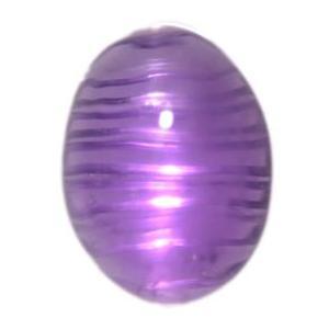 珍品♪疑似キャッツアイ☆天然アメジスト(紫水晶) カボッション ルース 1.51ct 《ov_140size》|evj-cc