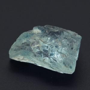 海の妖精♪二人の絆 天然アクアマリン 宝石品質 原石 0.54g evj-cc