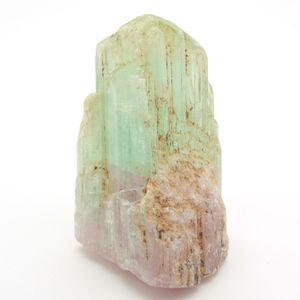 ブラジル産 天然バイカラートルマリン(ウォーターメロン) 柱状結晶原石 110g|evj-cc