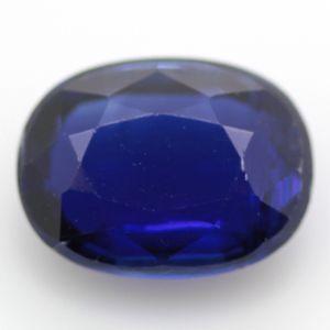 藍晶石 天然カイヤナイト オーバル ルース 1.66ct 《ov_140size》|evj-cc